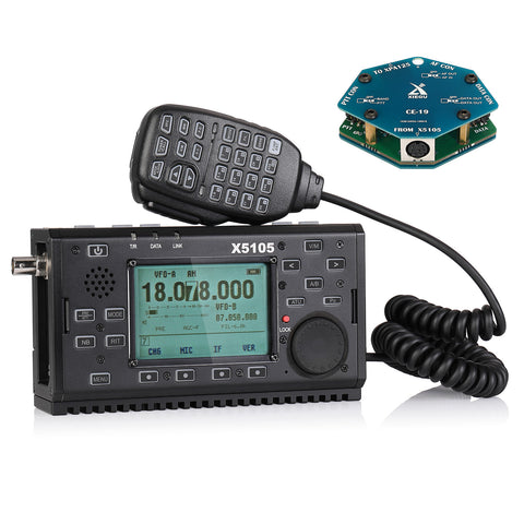 Xiegu X5105 OUTDOOR VERSION HF TRANSCEIVER | V3.0 with CE-19 - Radioddity