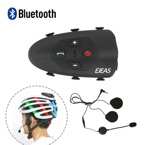 V9 Bluetooth Interphone Motorcycle Helmet Intercom - Radioddity