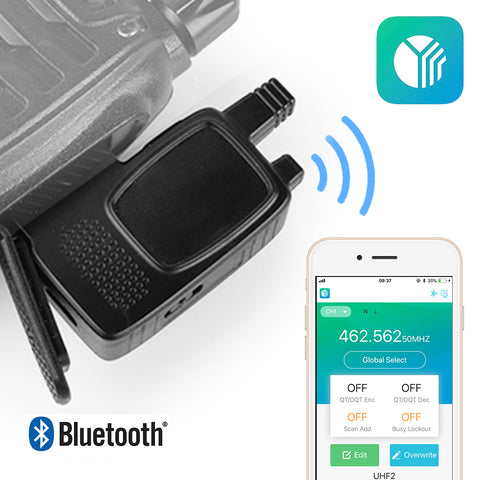 AS001 Wireless Bluetooth Programming Adaptor For Baofeng-888S