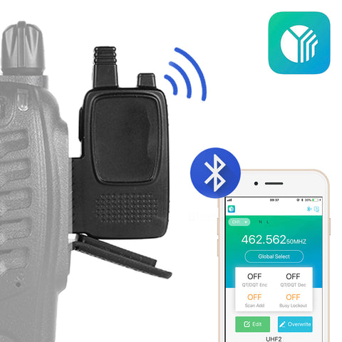 AS001 Wireless Bluetooth Programming Adaptor For Baofeng-888S [DISCONTINUED] - Radioddity