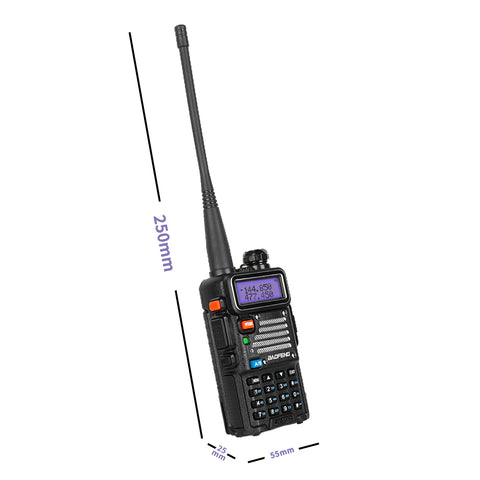 Baofeng x Radioddity UV-5RX3 Tri-band Walkie Talkie 136