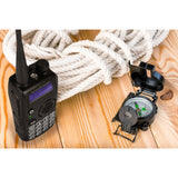 GA-5S Dual Band Tri-Power Two way Radio [2 Pack + 1 Cable] - Radioddity