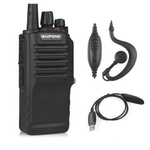 Baofeng BF-9700 | UHF | 7/5/1W | Waterproof | Noise Reduction | 1800mAh | with Cable - Radioddity