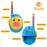 iRaddy KD10 Kids Walkie Talkie [1 Pair] - Radioddity