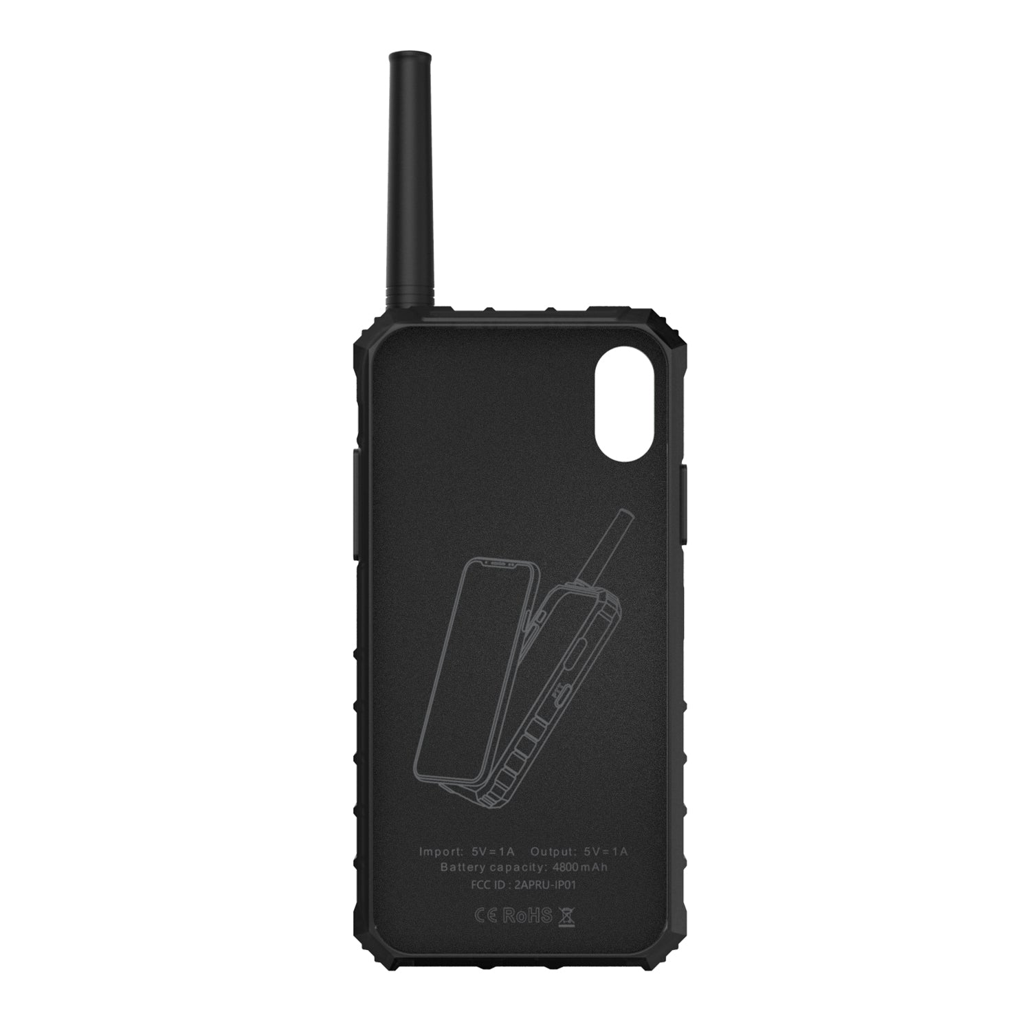 GM-6 iRaddy iPhone Case Walkie Talkies Programming Cable for GM-4 GM-5