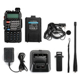 Baofeng UV-5R PLUS [10 Pack + Cable] | DUAL BAND | 4/1W | 128CH | FLASHLIGHT - Radioddity