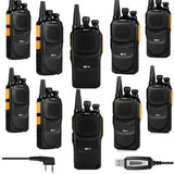 Baofeng GT-1 UHF Two-Way Radio [10 Pack + 1 Cable] - Radioddity