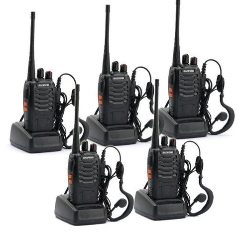 5 pcs x BaoFeng BF-888S Two Way Radio