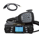 QYT KT-980 Plus | Dual Band | Quad-standby | 75W | Support CHIRP | with Cable - Radioddity