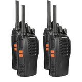 Baofeng BF-88A / 88E | USB Charging | Upgraded 888S | FRS / PMR | 1500mAh - Radioddity