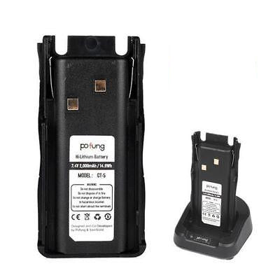 2000MAh Li-ion Battery for Baofeng GT-5 - Radioddity