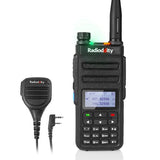 GD-77 DMR Radio+ Programming Cable + Waterproof Speaker Mic - Radioddity