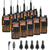 Baofeng GT-3TP Mark III Two way Radio [10 Packs] + Programming Cable - Radioddity