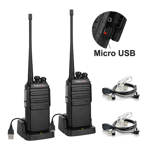GA-2S UHF Long Range USB Two way Radio [OPEN BOX] - Radioddity