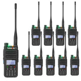 GD-77 DMR Dual Band Dual Time Slot Two Way Radio + Cable [10 Pack]