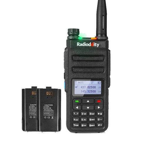 GD-77 DMR +Programming Cable + Extra Battery - Radioddity