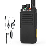 GD-77S DMR [10 Packs] | Dual Band | 5W | 2 Time-slot DMR | 2200mAh | with Cable - Radioddity