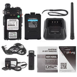 Baofeng UV-5RTP | Dual Band | 8W/4W/1W | Tri-power Two Way Radio | w/ Cable & Speaker - Radioddity