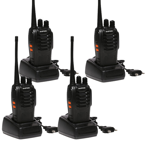 4 pcs x Baofeng BF-888S Two Way Radio