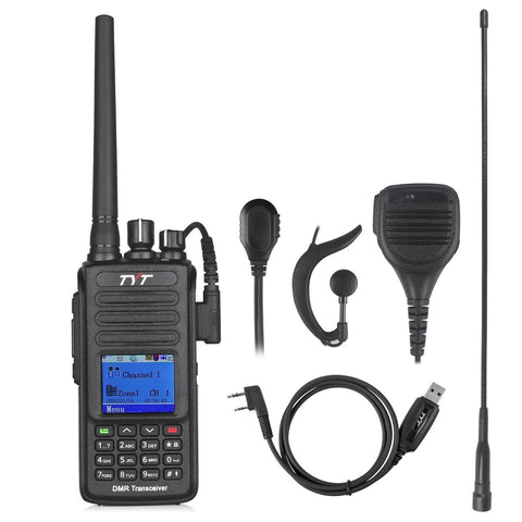 TYT MD-390G Waterproof DMR 400-480UHF 2200mAh + GPS+ Remote Speaker