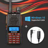 Baofeng GT-5TP Two-Way Radio + Programming Cable - Radioddity