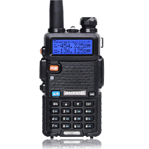 Baofeng UV-5R | Dual Band | 4/1W | 128CH | Flashlight | VOX | Alert | TOT