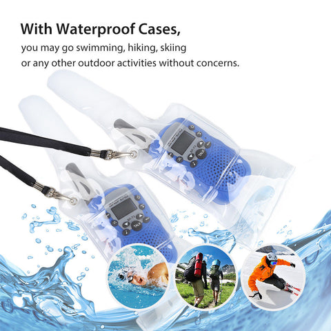 Waterproof Radio Set Case Bag for Two-way Radio Baofeng UV5R 888s - Radioddity