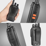 Baofeng BF-888S [10 Pack + Cable] | UHF |  5W | 16CH | CTCSS/DCS | Alarm | Flashlight - Radioddity