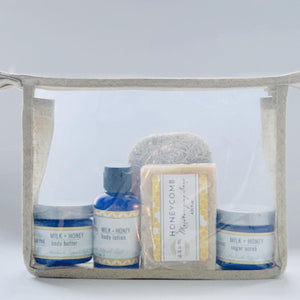 Hemp + Honey Travel Set