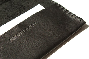 PASSPORT HOLDER in Ciervo Black