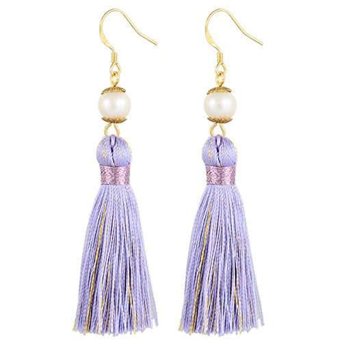 Holly Gift Boxed Pearl Tassel Earrings Inspired By Breakfast At Tiffany's