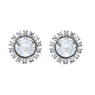 Holly Faux Diamond Earrings Inspired By Breakfast At Tiffany's - Utopiat