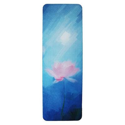 UTOPIAT's Breathing Lotus - the premium eco yoga mat