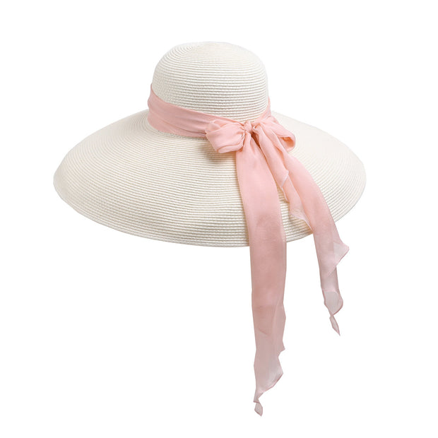 Miu - The Holiday Hat In White, Audrey Hepburn Inspired