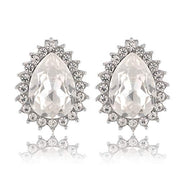 Holly Faux Diamond Earrings Inspired By Breakfast At Tiffany's