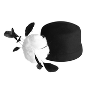 Holly Golightly Feather Hat