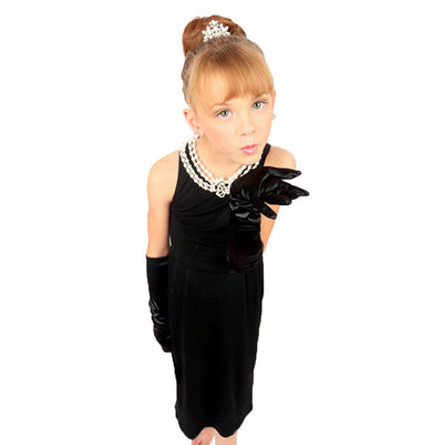 Mini Holly Iconic Black Dress Inspired By Breakfast At Tiffany's - Utopiat