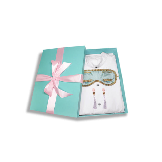 Mommy & Mini Holly Iconic Sleep Set Inspired By Breakfast At Tiffany's