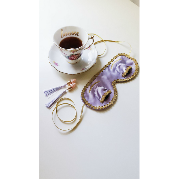 Holly Tassel Ear Plugs in Lavender Dream Inspired By Breakfast At Tiffany's - Utopiat