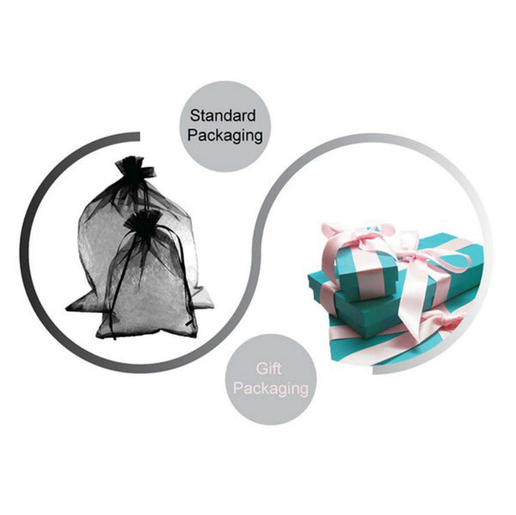 Holly Gift Boxed Tassel Ear Plugs in Midnight Black Inspired By Breakfast At Tiffany's - Utopiat