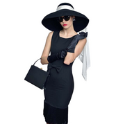 Holly Black Fringe Dress Inspired By Breakfast At Tiffany's - Utopiat