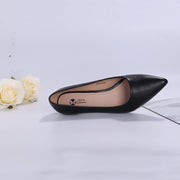 Holly Vegan Black Leather Pumps Inspired By Breakfast At Tiffany's