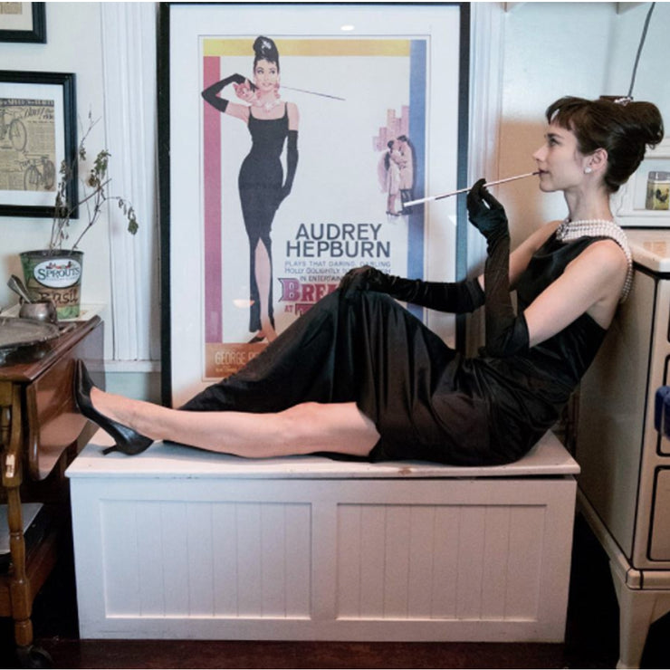 Holly Vegan Black Leather Pumps Inspired By Breakfast At Tiffany's - Utopiat