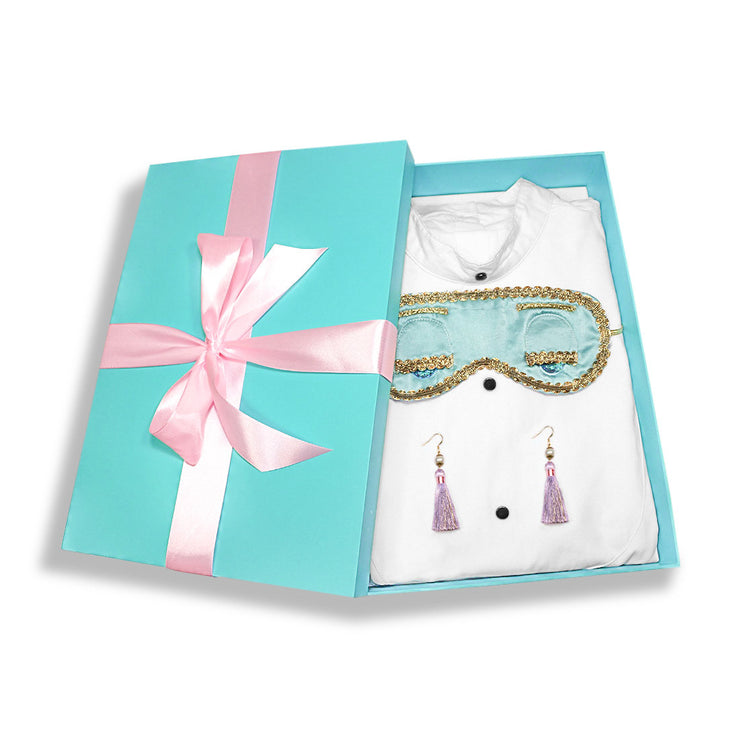 Holly Gift Boxed Iconic Sleep Set Inspired By Breakfast At Tiffany's - Utopiat
