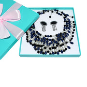 Holly Fringe Costume Jewelry Set- Breakfast At Tiffany's