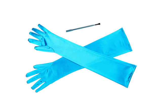Holly Cigarette Holder And Gloves Set Inspired By Breakfast At Tiffany's - Utopiat
