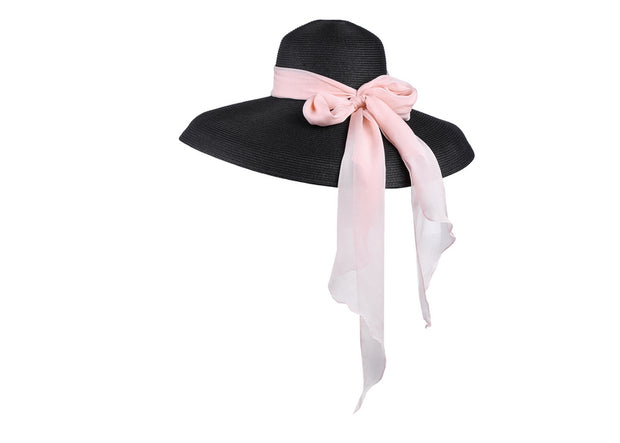Miu-the Holiday Hat in Black | Audrey Hepburn Hat