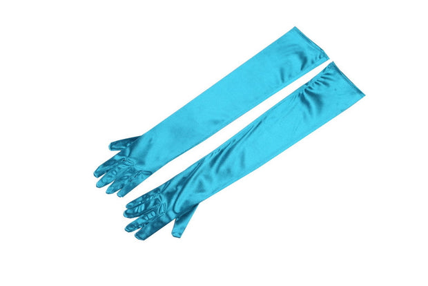 Breakfast at Tiffany's - Holly Long Satin Opera Gloves