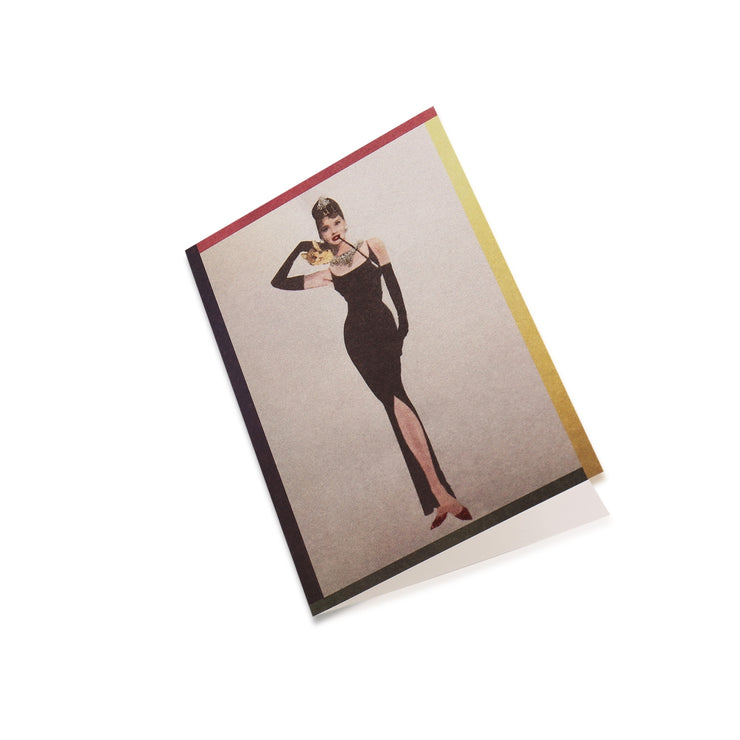 All Occasion Greeting Card: Be like Audrey, Be Classy and Sexy