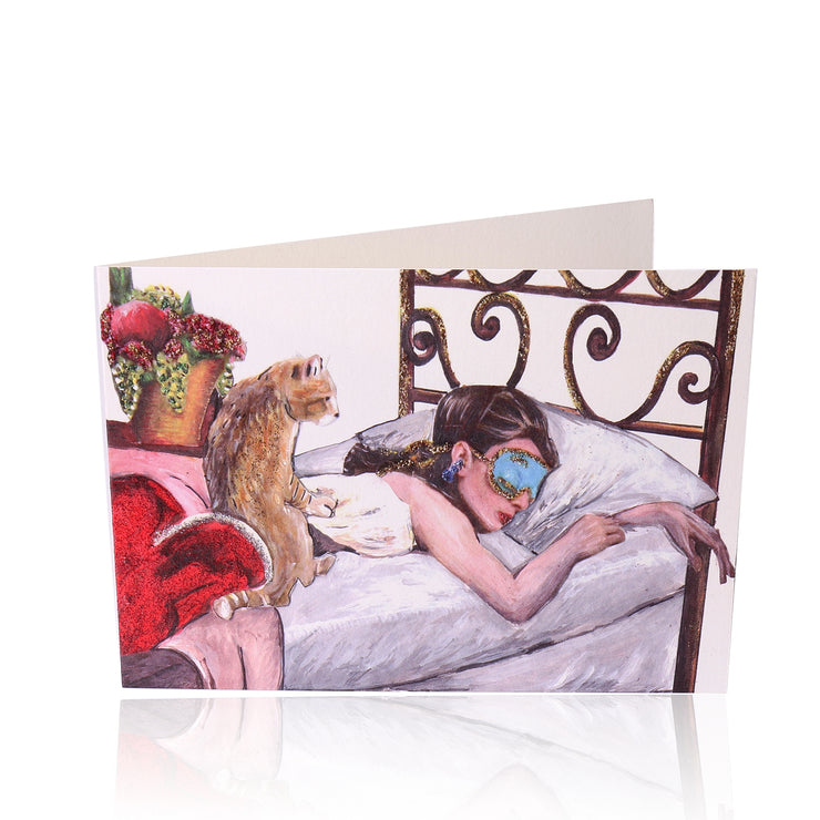 All Occasion Greeting Card: Be like Audrey, Be a Sleeping Beauty